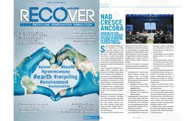 Parlano di noi: Recover Magazine Marzo 2020