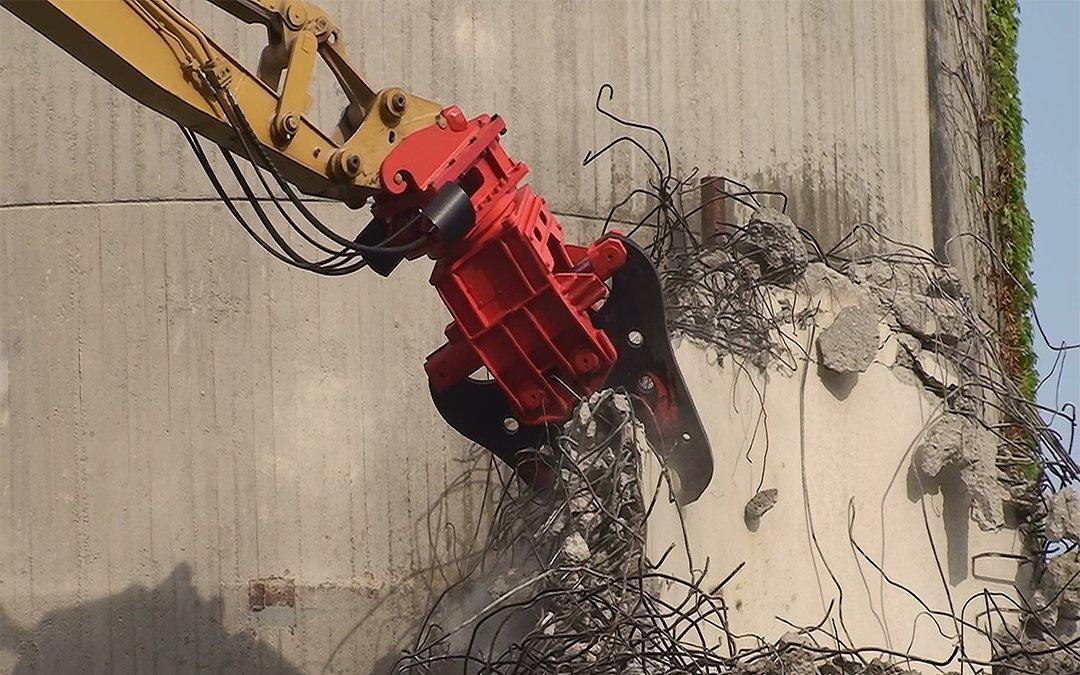 Vimatek: Attrezzatura per demolizione, riciclaggio e industria