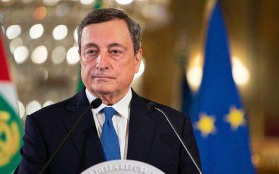 Draghi sblocca 57 grandi opere